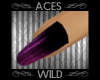 [AW] Violet Glam Nails