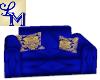 !LM Fun Blue Sofa