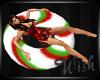 {wish} Candycane Float