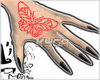 ᵏ. Butterfly claws
