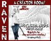 CREATOR ROOM WHITE CHECK