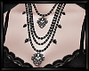 \/ Layered Necklaces