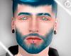 lPl Azul eyebrow + beard