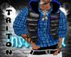 [TR] reebok blue,vest