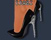 Corset Black/Silver Heel