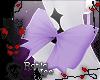 Lg. Purple Butt Bow