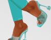 Shine Heels Blue