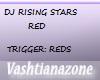 V-DJ RISING STARS RED