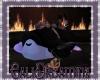 Lilac Penguin pillow