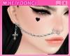 迫力 nose chain