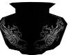 Asian Dragon Vase