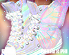 Holo Butterfly Sneakers
