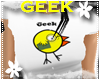 *S* Geek Chick White