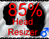 *M* Head Resizer 85%
