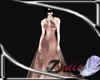 Champain Pink gown