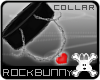 [rb] Heart Collar Red M