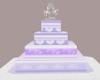 Lilac Love Wedding Cake
