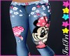 Child Minnie Mouse Jeans