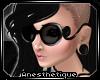 .:Glam Glasses:. Blk