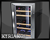 Small Black Refrigerator