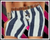 blue striped shorts rep
