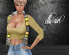 Yellow Top with Vest