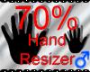 *M* Hand Scaler 70%