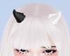 T! Horns - White & Black