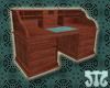 ]m[ Rolltop Desk Jarrah