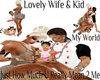 wife n me ilove my bby