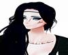 Black-Blue Emo Hair