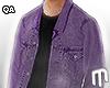 Jean Jacket - Purple