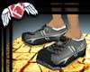 Sleek steel gray runners