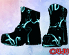 Animated Black Boots