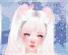 Cute Kawaii Pastel Pink White Bird Bag Earring Heart Puffs