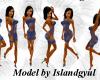 (C)Island BlueLVLingerie