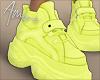 $ Neon Sneakers