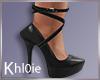 K win black heels