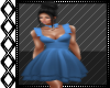 CockTail Dress Blue