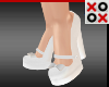 Chunky Pumps with White