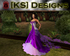 [KS] Purple Wedding Gown