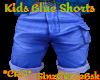 *ZD* Kids Blue Shorts