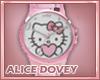 !AD! Classic Kitty Watch