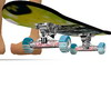 Skateboard 35 poses anim