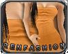 $R Appricot Tube Dress