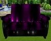 Black/Purple PVCZenCouch