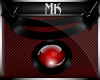 !Mk! Red Sphere Necklace