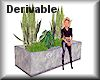 Derivable green planter
