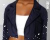 n| Crop Coat Navy