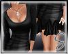 [Sev] Frill Dress Black